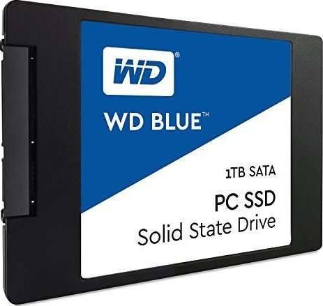 Western Digital 1TB Blue Internal SSD Solid State Drive - SATA 6Gb/s 2.5 Inch | WDS100T1B0A-00H9H0