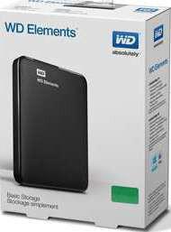WD 1TB Elements External HDD USB 3.0 | WDBUZG0010BBK-EESN
