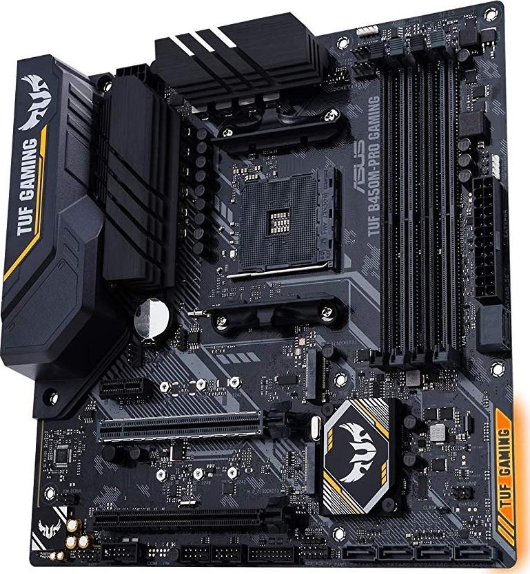 Asus TUF B450M-PRO Gaming AM4 AMD B450 Micro-ATX Motherboard    90MB10A0-M0EAY0