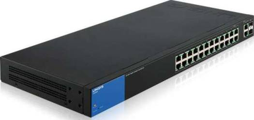 LINKSYS SWITCH LGS326P 26-Port Smart Gigabit PoE+ Switch   LGS326P