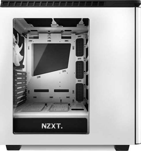 NZXT H440 Mid Tower Case - White/Black | CA-H440W-W1