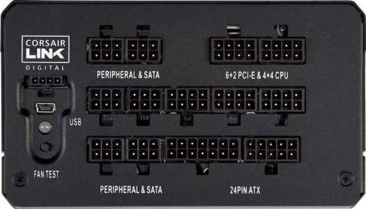 Corsair HX850i 850W Watt 80 Plus Platinum Certified PSU High-Performance Power Supply | CP-9020073-UK