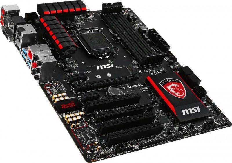 MSI Z97 Gaming 3 LGA 1150 Intel Z97 HDMI SATA 6Gb s USB 3 0 ATX Intel  Motherboard Z97 GAMING 3