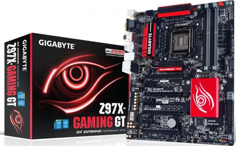 GIGABYTE GA Z97X Gaming GT LGA 1150 Intel Z97 HDMI SATA 6Gb s USB 3 0 ATX  Intel Motherboard