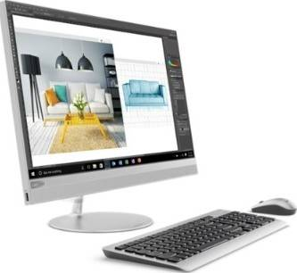 "Lenovo IdeaCentre 23.8"" AIO 520-24ICB, Core i5-8400T, 8GB RAM DDR4-2666, 1TB HDD 7200rpm, AMD Radeon 530 2GB GDDR5 - Silver | F0DJ0051AX"
