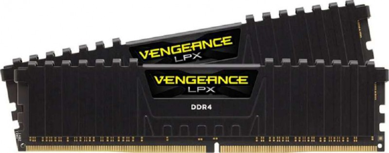 CMK16GX4M2A2400C14 Black 2x8GB DDR4 DRAM 2400MHz C14 Memory Kit CORSAIR Vengeance LPX 16GB