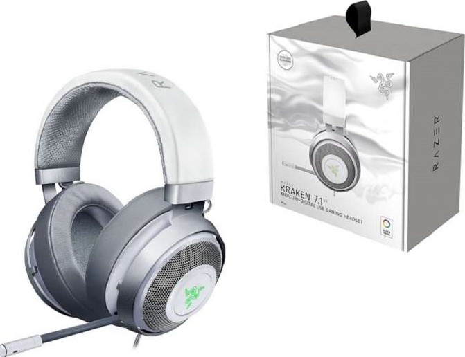 9943e046ce8 Razer Kraken 7.1 V2 Oval Ear Cushions Noise Isolating Surround Sound  Digital Gaming Over-Ear