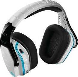 Logitech G933 Artemis Spectrum Wireless 7.1 Surround Pro Gaming Headset (White) | 981-000621/981-000620