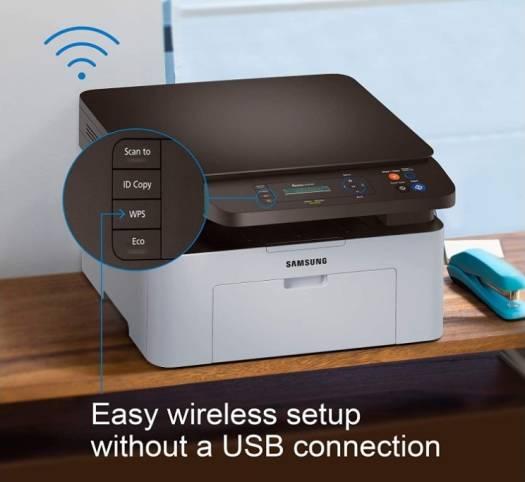 Samsung Xpress Wireless Monochrome Laser Printer, NFC printing   M2070W