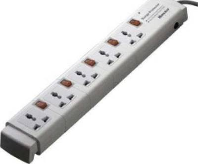 Huntkey Power Strip 5 Sockets 3M Cable with Surge Protector | PSPZC504UKHK