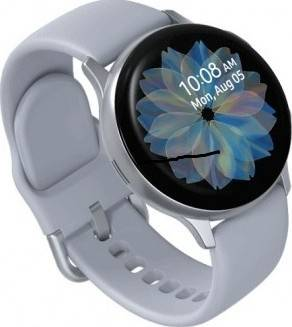 Samsung SM-R830N Galaxy Watch Active 2, 40mm - Cloud Silver | 0609XLB9DYI