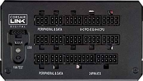 Corsair HX1000i 1000W Watt 80 Plus Platinum Certified Power Supply | CP-9020074-UK