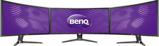 BenQ EXR3501R Curved  35 Inch Gaming Monitor (144Hz), 21:9 Ultra wide, 2560 x 1080 resolution with 3 Exclusive Game Modes  | 9H.LGJLA.TSK