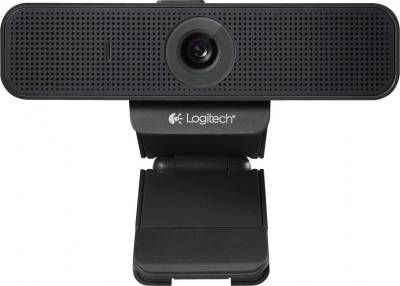 Logitech C920-C Webcam (Business Product) with 1080p HD Video Certified for Cisco Jabber