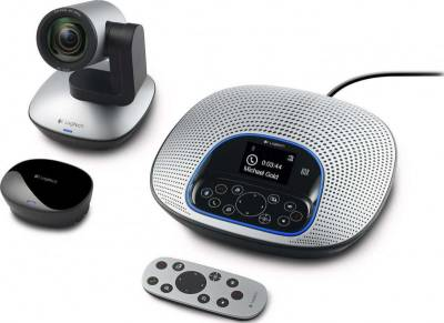Logitech Conference Cam CC3000e All-In-One HD Video and Audio Conferencing System (960-000982)