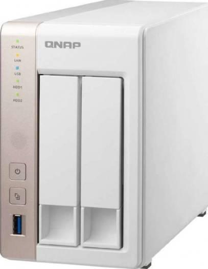 QNAP TS-251 2 Bay Personal Cloud NAS, Intel 2.41GHz Dual Core CPU 1 GB | TS-251