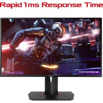 ASUS ROG SWIFT PG278QR 27 INCH WQHD (2560 x 1440) Gaming monitor, 1ms, up to 165Hz, DP, HDMI, USB3.0 , G-SYNC | 90LM00U3-B01370
