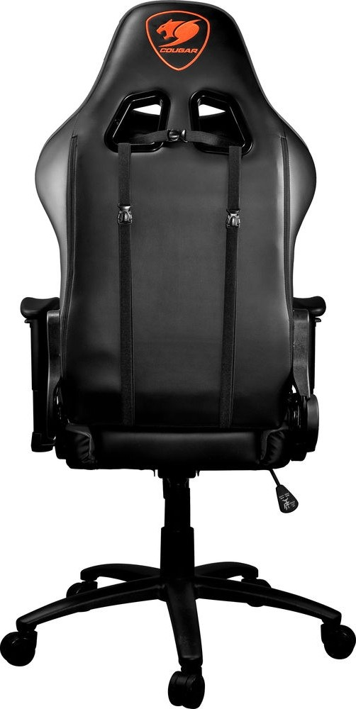 Cougar Armor One Black Gaming Chair 180 186 Reclining And