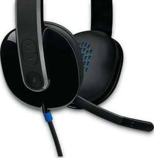 Logitech H540 USB Headset with Noise-Cancelling Mic   981-000480