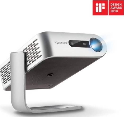 ViewSonic M1+, Portable Smart Wi-Fi Projector with Dual Harman Kardon Bluetooth Speakers HDMI USB Type C and Built-in Battery - Grey Sale 30 | M1-PLUS