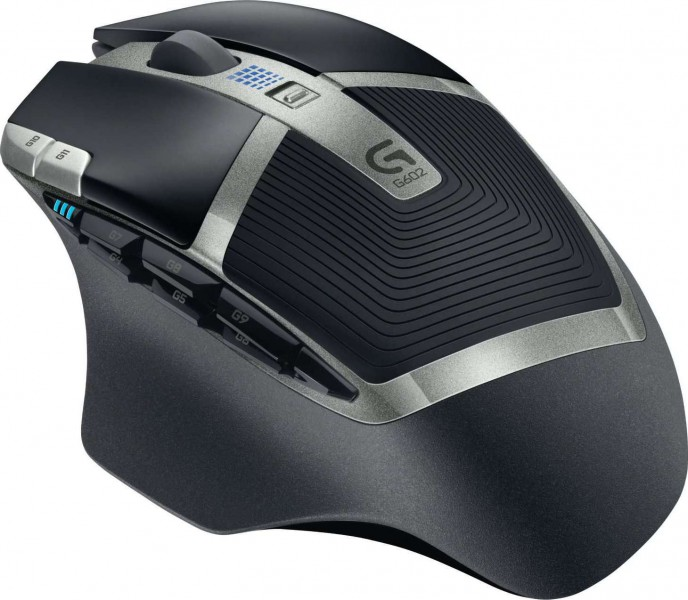 454d80b5783 Logitech G602 Wireless Gaming Mouse with 250 Hour Battery Life | 910-003823