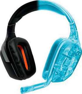 Logitech Wireless Gaming Headset G930 with 7 1 Surround Sound, Wireless  Headphones with Microphone
