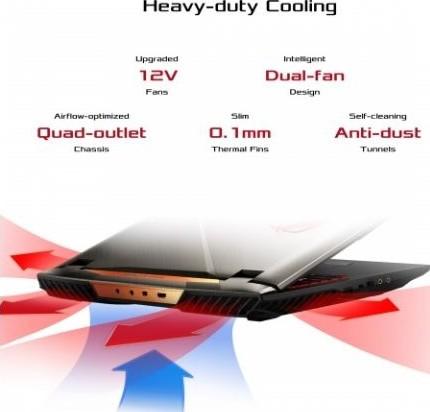 ASUS ROG G703GX Gaming Laptop, 17 3 FHD 144Hz G SYNC, 8th Generation Intel  Core i9 8950HK 2 90Ghz