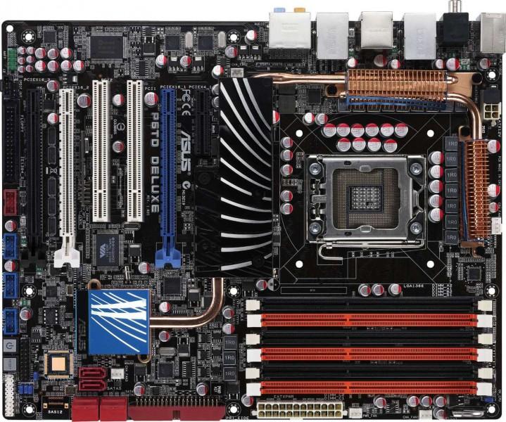 ASUS P6TD Deluxe X58 Motherboard