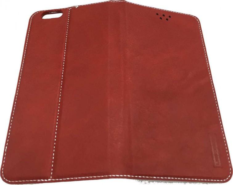 LEEU Design IPHONE 6 Cover Leather Case   Red
