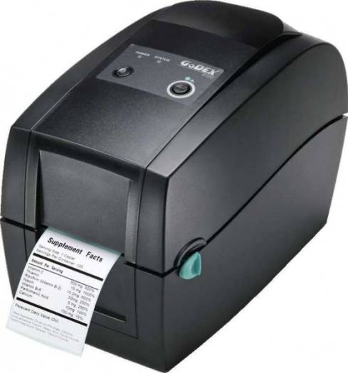 GODEX 2 INCH LABEL BARCODE PRINTER SERIAL + USB + ETHERNET INTERFACE | RT200