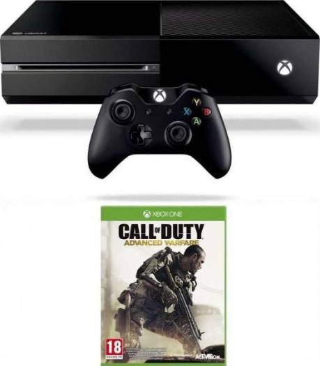 Xbox One Console with Call of Duty: Advanced Warfare With Kinect