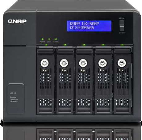 QNAP UX 500P 5 Bay Expension Unit for TS x51 Turbo NAS series UX 500P