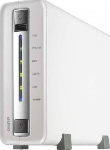 QNAP 1-bay home & SOHO NAS for personal cloud and social sharing | TS-112P