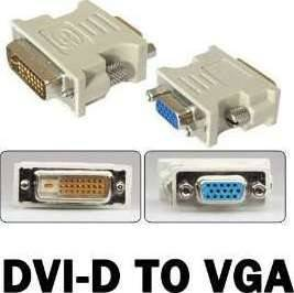 DVI-D to VGA Adapter