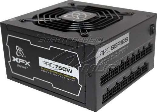 Xfx Xtr 750w Easy Rail 80plus Gold Power Supply With Full