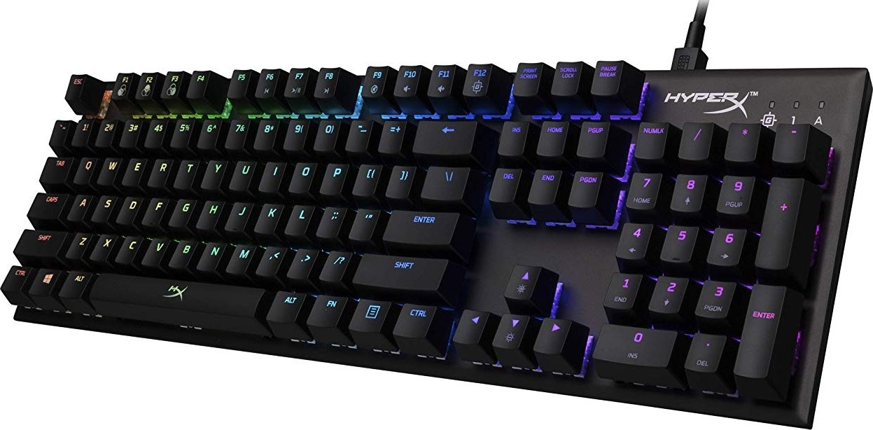 7c240607c73 HyperX Alloy FPS RGB Mechanical Gaming Keyboard - Compact Form Factor,  Software-Controlled Light