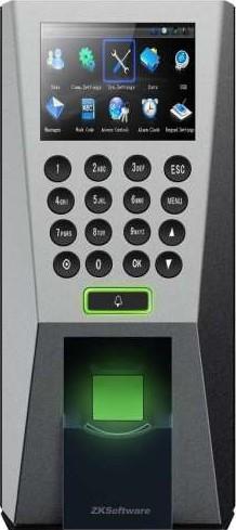 ZKTeco F18 Fingerprint Standalone Access Control and Time Attendance F18