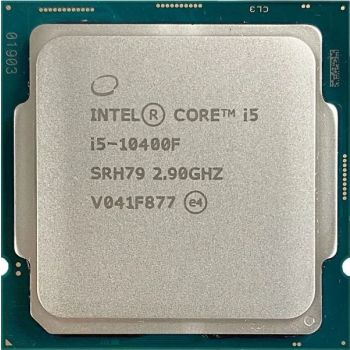 Intel Core i5-10400F Desktop Processor 6 Cores up to 4.3 GHz Without Processor Graphics LGA1200 (Intel 400 Series chipset) 65W    10400F-TRAY
