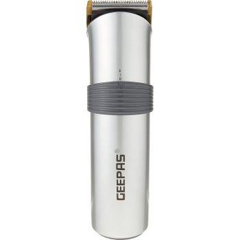 Geepas GTR8684 Professional Hair Trimmer Clipper - Grey   6294015500257