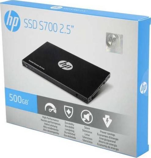 "HP S700 2.5"" 500GB SATA III 3D NAND Internal Solid State Drive (SSD) | 2DP99AA"