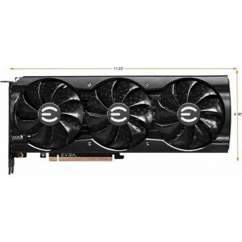 EVGA GeForce RTX 3070 Ti XC3 Ultra Gaming 8GB GDDR6X Graphics Card, PCIe 4.0, 256 bit, iCX3 Cooling, ARGB LED, Metal Backplate | 08G-P5-3785-KL