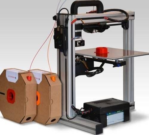 Octofiber PLA 3D Filament 1.75mm – 0.75kg/Roll (Glowing Green) | 175.pla.075.glg.001