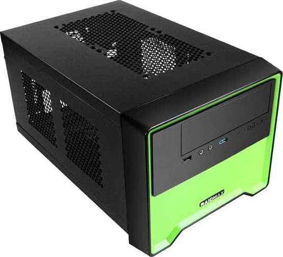 Raidmax Element Series Atx Computer Case Green Element