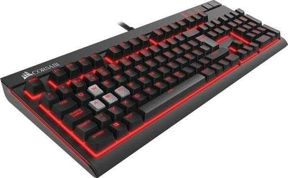 ba60977e508ba4 Corsair Strafe Cherry MX Red Mechanical Gaming Keyboard Clavier Mecanique  CH-9000088-NA