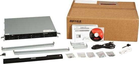 BUFFALO TeraStation Pro Rackmount 4 Bay 8 TB 4 x 2 TB RAID 1U Rack  Mountable Network Attached Stor