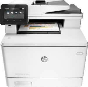 HP MFP M477fdw LaserJet Pro Colour Printer A4(ePrint, AirPrint) (Print, Copy, Scan, Fax) | CF379A