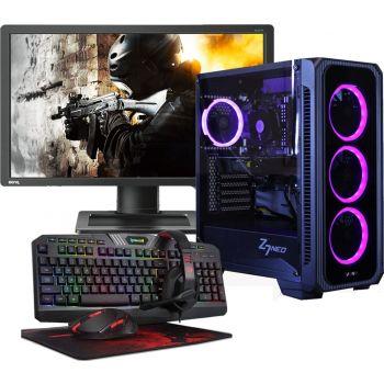 BEST CUSTOM Gaming PC Bundle ( Core I5 11th Gen 11400 ,RTX 3060 12GB ,16GB RAM OC ,250GB SSD+1TB HDD, 700W PSU ,WIFI , RGB Cooler+ Benq 24-Inch 144Hz Monitor +Gaming Keyboard Mouse & Headset )