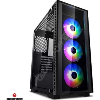 GIZMOPOWER High-Performance Liquid Cooler  Gaming PC - Computer Desktop - Intel Core i7-9700 CPU - GTX 1660 6GB Graphics Card - 256GB SSD + 1 TB HDD - 16GB DDR4 - Windows 10 Pro | GP029876