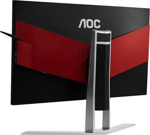 AOC AG241QX Agon 24 Inch Gaming Monitor, 2560x1440 Res, 144hz, 1ms, 50M:1DCR, VGA, DVI, 2 HDMI, DP, USB   AG241QX