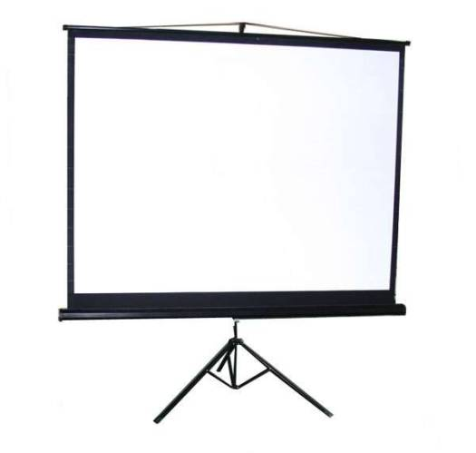 STAR Tripod Screen Projector 240 x 240 cm